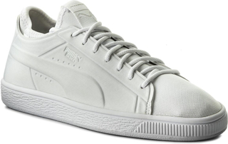 Sneakers PUMA - Basket Classic Sock Lo 365370 02 Puma Wht/Puma Wht/Puma Wht