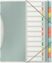 Sorteringsmapp Esselte Colour'Ice med 12 fack