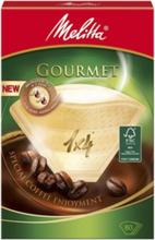 Melitta Kaffefilter Gourmet 1x4 80-p