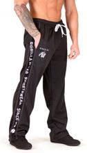 Functional mesh housut, musta/valkoinen