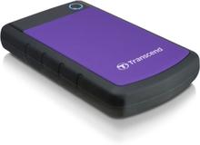 """Transcend Transcend 2,5"""" ekstern harddisk 2TB, USB 3.0, lilla"""