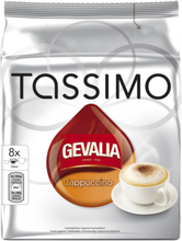 Gevalia Tassimo Cappuccino kaffekapslar, 8 port
