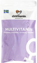 Multivitamin Kvinna 60-pack