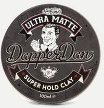 Dapper Dan Dapper Dan Ultra Matte Clay 100ml Grå