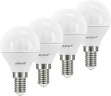Airam LED Klot E14, 5,5W 4-pack
