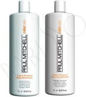 Paul Mitchell Color Protect Shampoo 500ml + Daily Conditioner 500ml