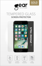 GEAR Härdat Glas iPhone 6/7/8