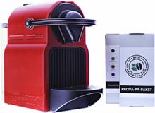 Krups Nespresso Inissia XN1005, kapselmaskin, röd