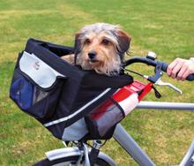 Cykelväska, Front hund