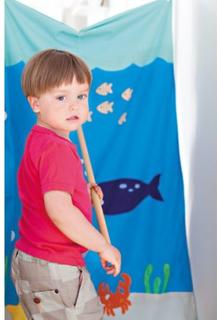 Oskar & Ellen - Fiskdamm till barnkalas