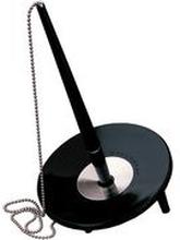 BALLOGRAF Kulpenna, Epoca Bank Deskset, spets på 1 mm, svart pennkropp med blått bläck