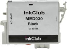 inkClub Blekkpatron, erstatter Epson T0611, svart, 250 sider