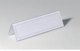 Durable Bordsskylt, levereras med tomma insatser p