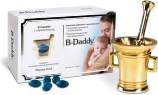 B-Daddy för män - 60 kapslar