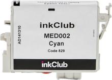 inkClub Blekkpatron, erstatter Epson T0482, cyan, 14 ml