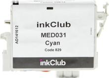 inkClub Blekkpatron, erstatter Epson T0612, cyan, 420 sider