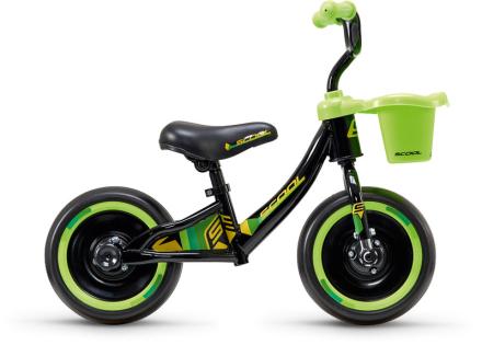 """s'cool pedeX 3in1 Løbecykel Børn 10"""" grøn/sort 2019 Løbecykler"""