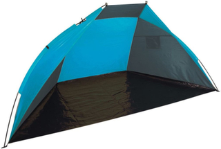Camp Gear Vindskydd 240x120x120 grå och blå 4367635