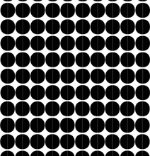 Lane tyg svarta cirklar
