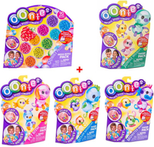 Fastest Delivery High Quality Magic Oonies Onies Onoies Ball 90 pcs Pet Scene Monster Mania Jungle Wildlife O