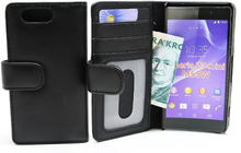 Plånboksfodral Sony Xperia Z3 Compact (D5803) (Svart)