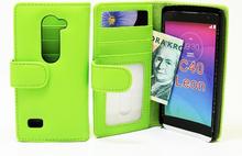 Plånboksfodral LG Leon (C50 H340N H320) (Grön)