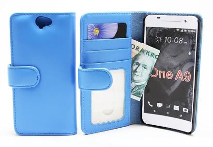 Plånboksfodral HTC One A9 (Ljusblå)