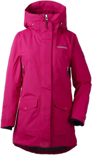 Didriksons Frida Women's Parka Dame synthetic-lined parkas Rosa 40