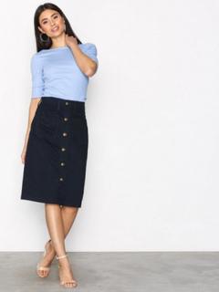Polo Ralph Lauren Pencil Skirt Indigo