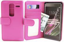 Plånboksfodral LG Zero (H650E) (Hotpink)