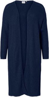 JUNAROSE Knitted Cardigan Kvinna Blå