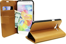 Standcase Wallet Samsung Galaxy Grand Prime VE (G531F) (Brun)