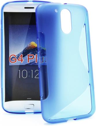 S-Line Skal Lenovo Motorola Moto G4 / G4 Plus (Blå)