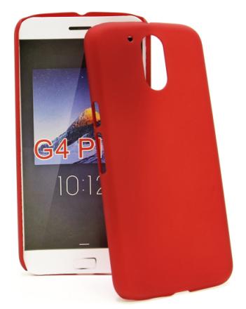 Hardcase Skal Lenovo Motorola Moto G4 / G4 Plus (Röd)