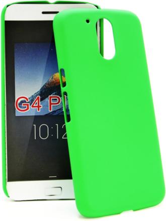 Hardcase Skal Lenovo Motorola Moto G4 / G4 Plus (Grön)