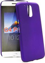 Hardcase Skal Lenovo Motorola Moto G4 / G4 Plus (Lila)