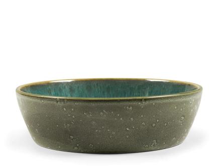 Bitz Suppeskål Ø 18 x 4,8 cm grønn/grønn.