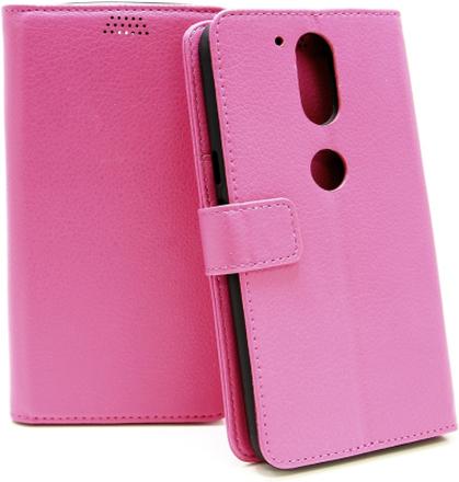 Standcase Wallet Lenovo Motorola Moto G4 / G4 Plus (Hotpink)