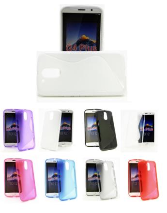 S-Line Skal Lenovo Motorola Moto G4 / G4 Plus (Svart)