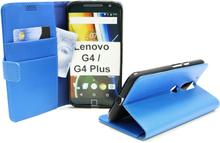 Standcase Wallet Lenovo Motorola Moto G4 / G4 Plus (Blå)