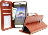 Crazy Horse Wallet Lenovo Motorola Moto G4 / G4 Pl