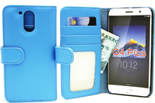 Plånboksfodral Lenovo Motorola Moto G4 / G4 Plus (Ljusblå)