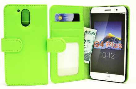Plånboksfodral Lenovo Motorola Moto G4 / G4 Plus (Grön)