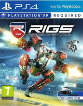 RIGS: Mechanized Combat League (VR) - PlayStation 4 - Virtual Reality