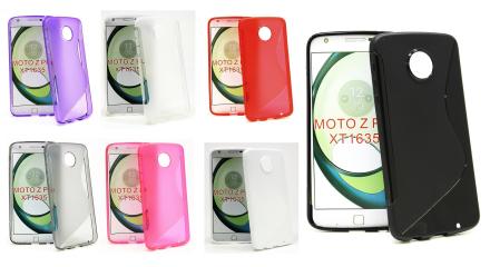 S-Line skal Lenovo Motorola Moto Z Play (Svart)