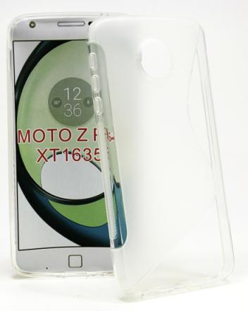 S-Line skal Lenovo Motorola Moto Z Play (Clear)