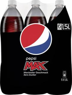 Pepsi Max 6 x 1,5 L