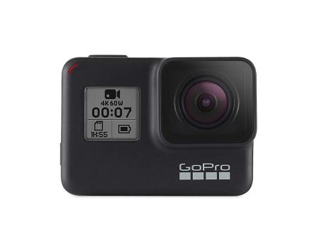 GoPro HERO7 4K handling kamera - sort