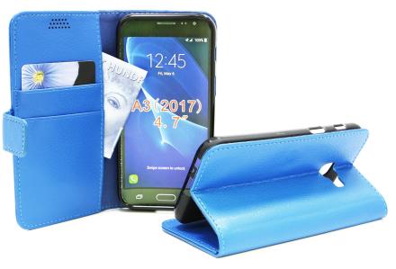 Standcase Wallet Samsung Galaxy A3 2017 (A320F) (Blå)