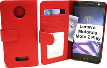 Plånboksfodral Lenovo Motorola Moto Z Play (Röd)